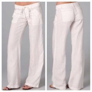 Joie Irreplaceable linen pants sz: 8